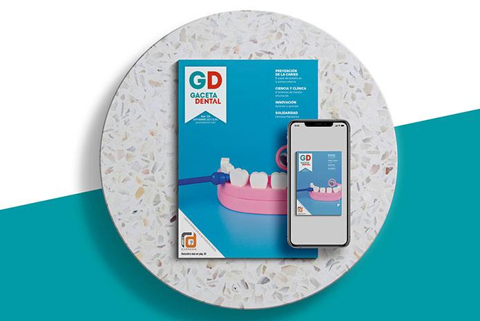 Disponible para descarga el número de septiembre de Gaceta Dental