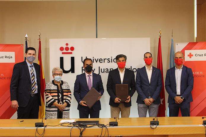 Acuerdo de colaboración entre La Clínica Universitaria y Cruz Roja Alcorcón