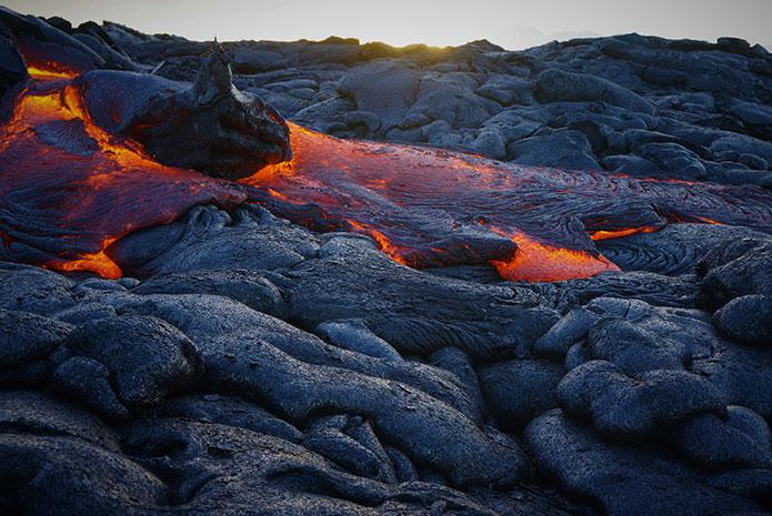 Efectos de las cenizas de un volcán en la salud dental