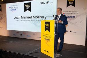 Juan Manuel Molina, director general de Henry Schein