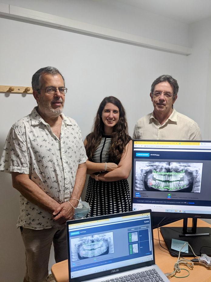 TotIA, la primera startup española dedicada a desarrrollar aplicaciones de Inteligencia Artificial en Odontología