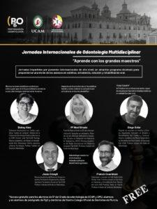 Jornadas Internacionales de Odontología Multidisciplinar @ Online