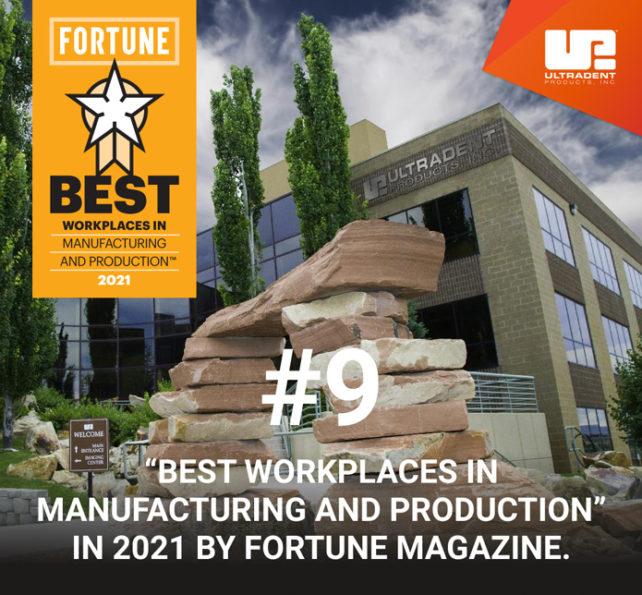 Ultradent recibe el reconocimiento de la revista Fortune